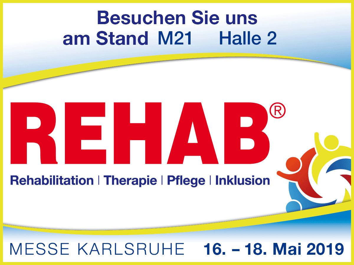 Titelbild zu REHAB 2019 Karlsruhe