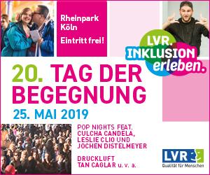 Titelbild zu LVR - Tag der Begegnung 2019 Köln